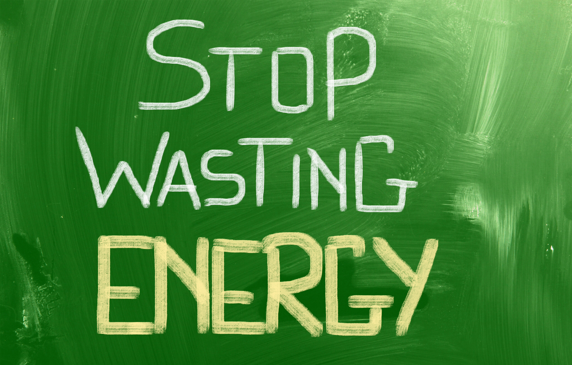 energy wasting habits text