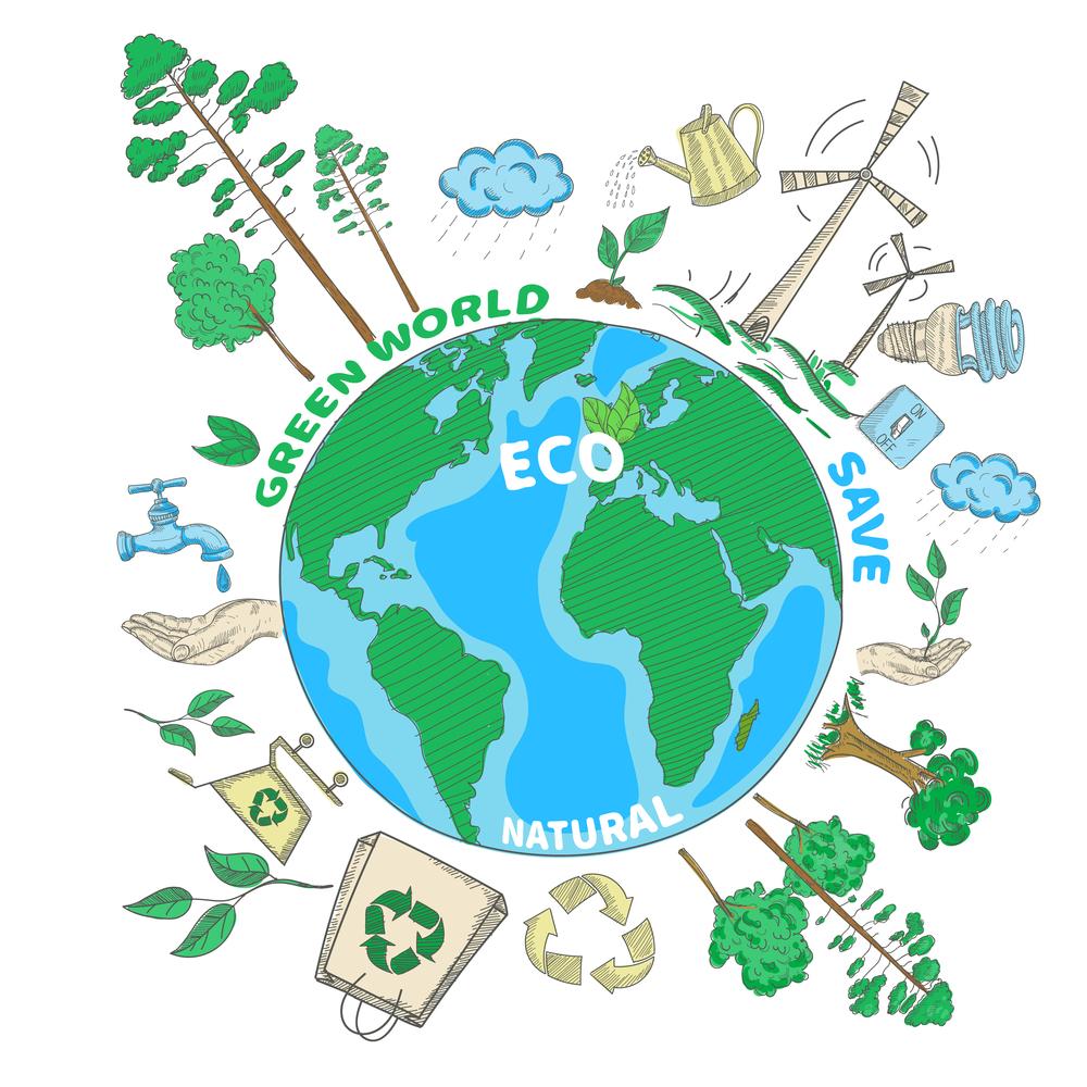image depicting ways to reduce energy waste