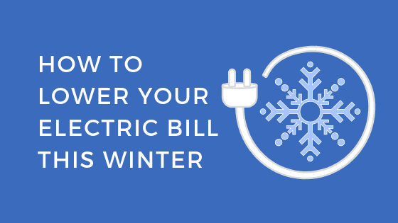 plug with text that says how to lower your winter electric bills