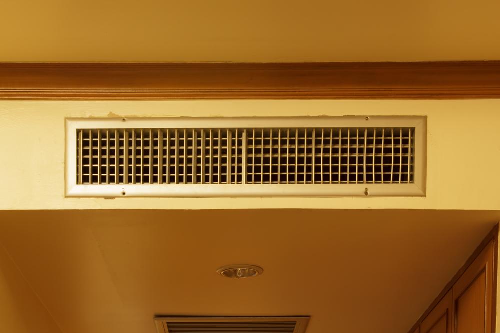 mold around ac vents