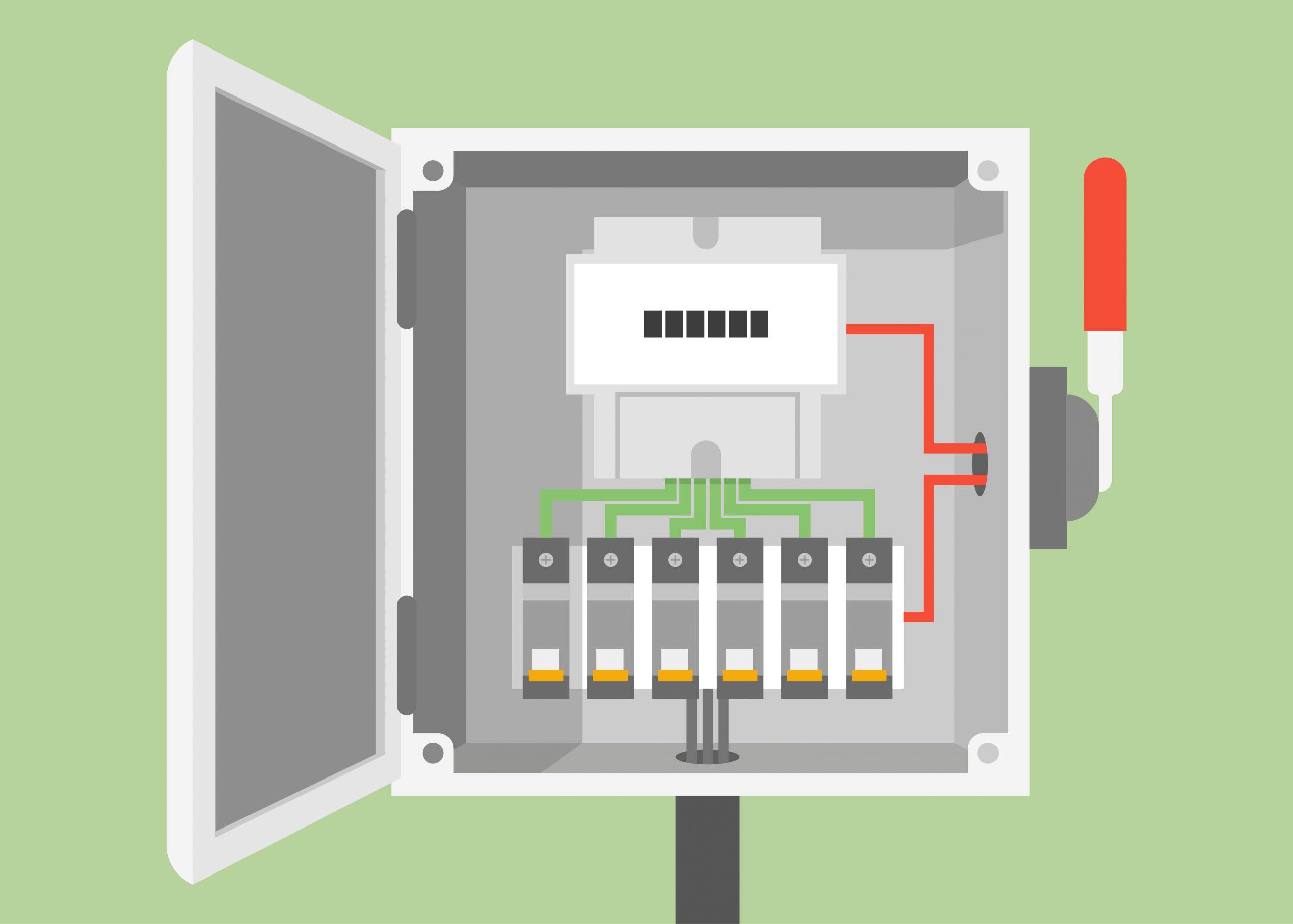 fuse box vs. circuit breaker